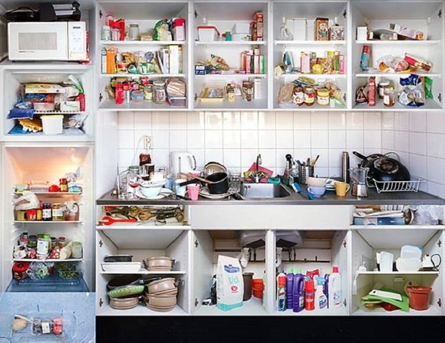 Organiza o como organizar arm rio de cozinha di rio da mei - Como organizar armarios ...