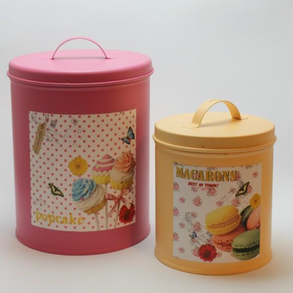 set-de-2-latas-vintage-rosa-crema